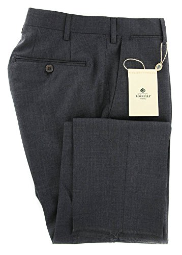 new-luigi-borrelli-charcoal-gray-solid-pants-extra-slim-40-56