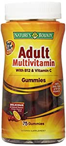 Nature's Bounty Your Life Multi Adult Gummies, 75-Count (Package may vary)