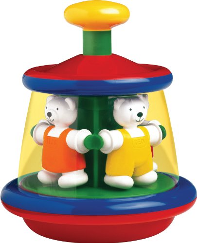 Schylling-Ambi-Ted-And-Tess-Carousel