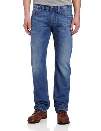 Jeans Diesel LARKEE 2013 bleu homme coupe droite 0810J