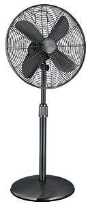 Hunter 90435 16-Inch Portable Stand Fan, Gunmetal