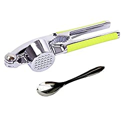 WZ 304 Stainless Steel Garlic Press and Mince Garlic and Ginger Juice