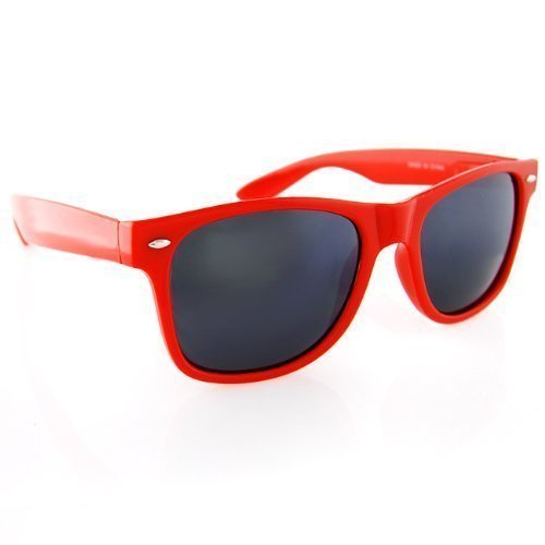 Classic Wayfarer Style Sunglasses Large Lens