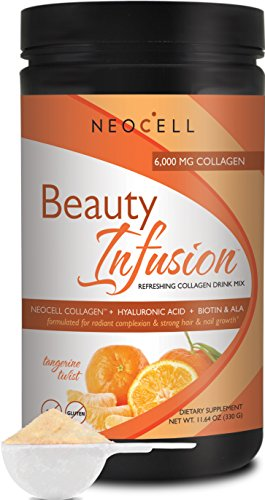 Neocell Beauty Infusion Refreshing Collagen Drink Mix - Tangerine Twlist - 11.64 Oz