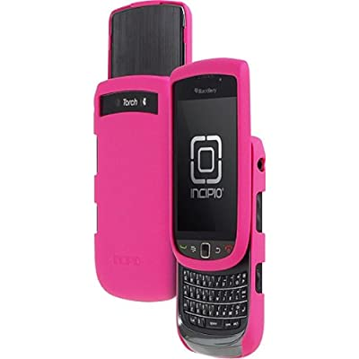 Pink Incipio Feather Light Snap On Hard Plastic Phone Case Cover Protector with Screen Protector for BlackBerry Torch by Tessco
