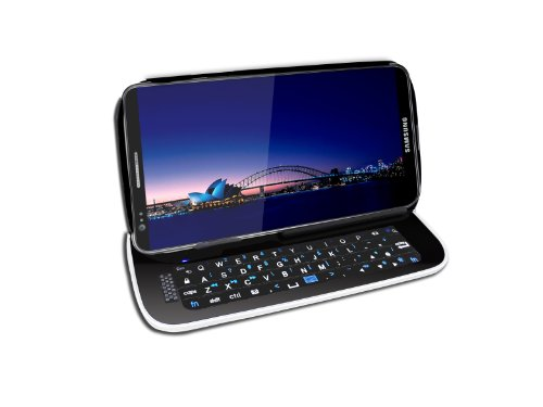 Hype Sliding Bluetooth Keyboard With Detachable Case For Samsung Galaxy S3 - Retail Packaging - Black