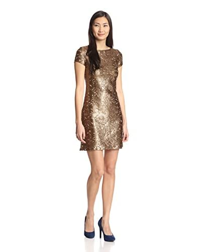 Julia Jordan Women's Metallic Lace Dress