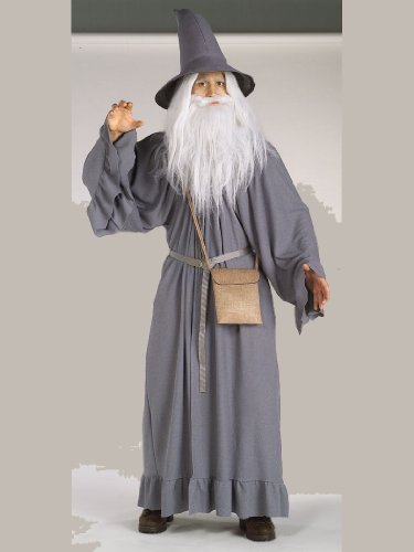 Gandalf Adult Men's Costume Lord Of The Ringes Costume LOTR Fantasy Wizard