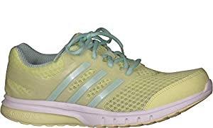 Adidas Performance Women's Galaxy Elite W Running Shoe (8.5 B(M) US, Frozen Yellow/Frozen Green/White)