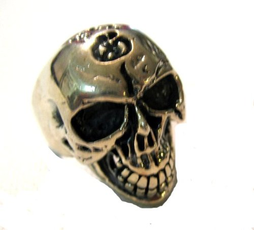 Heavy Weighted Sterling Silver Biker Motorcycle
