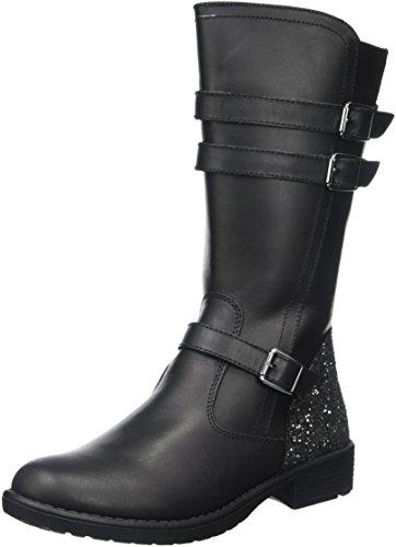 ASSOStivale - Stivali Bambina , Nero (Black (nero)), 33