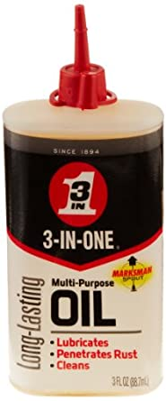 3-IN-ONE 100355 Multi-Purpose Oil, 3 oz. (Pack of 1)