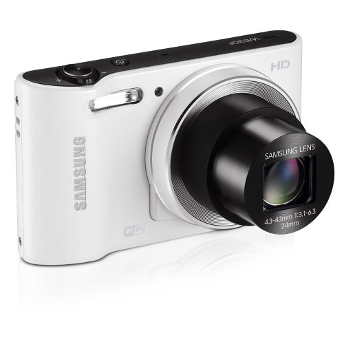 Samsung WB30F Smart Wi-Fi Digital Camera, 16.2 Megapixel, 10X zoom, 3.0