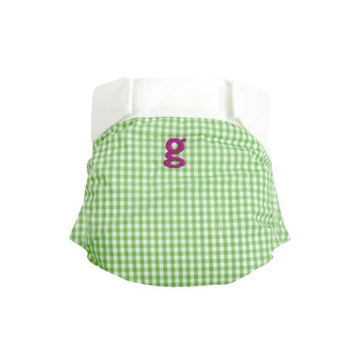 Gdiapers Gpants, Gingham Girl, Medium