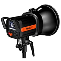 Phottix Indra360 TTL   Caractéristiques: Puissance: 360W  TTL, Manuel et modes stroboscopiques Synchro haute vitesse - 1 / 8000s obturation * Deuxième rideau Sync * Réglez +/- 3 EV * Manuel Puissance 1/128 à pleine pui...