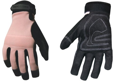 Youngstown Glove 05-3800-20-M Women's Garden Glove, Performance Glove, Medium, Pink