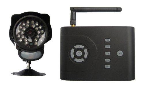 Digitales Wireless DVR Überwachungskamera Set (Funk, Bewegungserkennung, Nachtsicht)