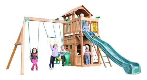 Playtime Swing Sets Madison Swing Set front-68773