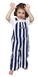 Kentucky Wildcats Toddler Game Bibs Striped Overalls by Game Bibs