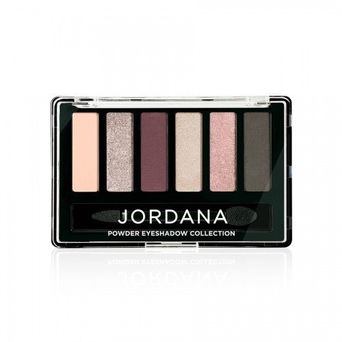 (6 Pack) JORDANA Made To Last Powder Eyeshadow Collection - Plumbelievable
