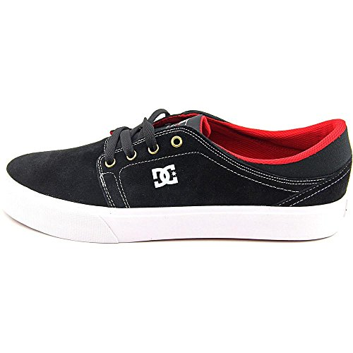DC Mens Trase Shoes, Black/White, 10D
