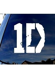 "One-Direction-Logo Car Truck Laptop Sticker Decal 4"" Diameter"