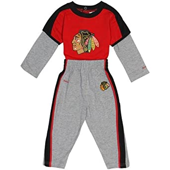 Amazon NHL Reebok Chicago Blackhawks Infant Long