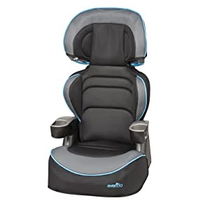 Evenflo Big Kid Lx High Back Booster Car Seat by Evenflo