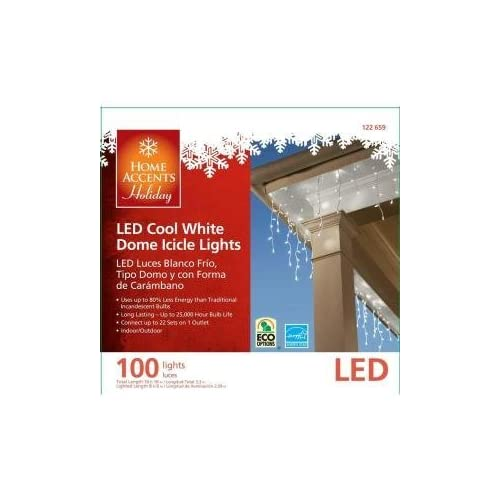 Home Accents Holiday 100-Light LED Cool White