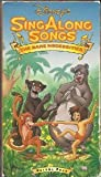 Sing Along Songs Bare Necessities [VHS]