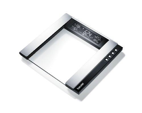 Beurer BG55 Glass Diagnostic Bathroom Scale Black