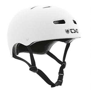 TSG Helm Skate BMX Solid Color, Flat/White, S/M, 750401-35-336