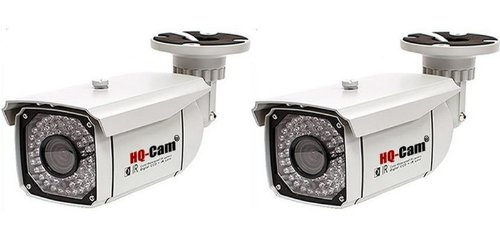 """Hq-Cam® 2 Packs Cctv Home Video Outdoor Ccd Bullet Security Camera - 550 Color Tv Lines Sony Super Had Ii Ccd 1/3"""" Sony Super Had Ii Ccd Build-In 48Ir Infrared Leds 2.8-12Mm Vari-Focal Lens Outdoor/Indoor Weatherproof And Vandalproof Day Night Vision For"""