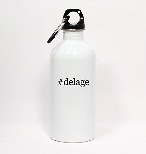 delage-hashtag-white-water-bottle-with-carabiner-20oz