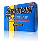 Srixon AD333 Golf Balls - 1 Dozen NEW 2014 (Yellow)