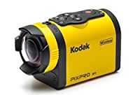 "Kodak PIXPRO SP1 Action Cam with Aqua Sport Pack 14 MP Waterproof, Full HD 1080p Video, Digital Camera and 1.5"" LCD Screen (Yellow)"