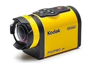 "Kodak PIXPRO SP1 Action Cam with Aqua Sport Pack 14 MP Waterproof, Full HD 1080p Video, Digital Camera and 1.5"" LCD Screen (Yellow)"