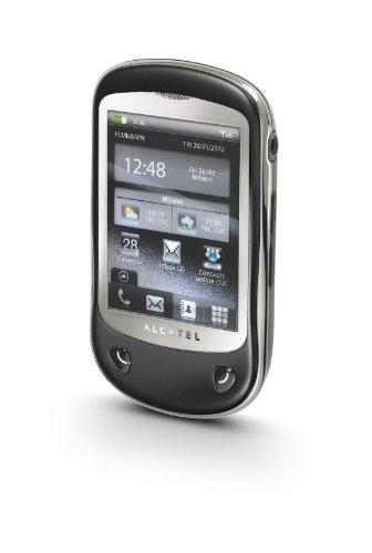 Alcatel OT-710 Handy (7,1 cm (2,8 Zoll) Display, Touchscreen, 2 Megapixel Kamera, Mikro-USB) schwarz