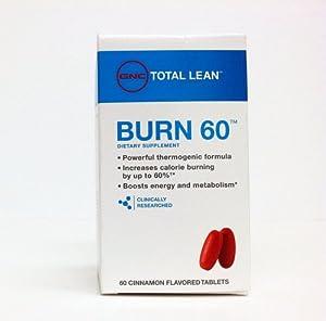 Burn 60 tablets