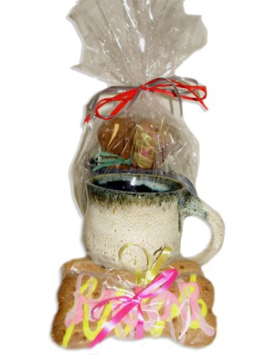 Bogie's Big Bones Gift Mug - Heidi's Homemade Holiday Treats for Dogs