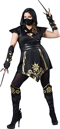 Elite Ninja - Womens Plus Size XX-Large Costume