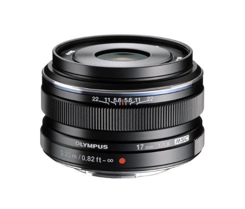 OLYMPUS 奥林巴斯 M.Zuiko 17mm f1.8 微单镜头 玄色款