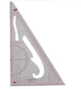 Portable Pattern Cutter's Ratio Triangle, Angle measurer- Buy 1 Get 1 FREE Offer! from Well Made Tools
