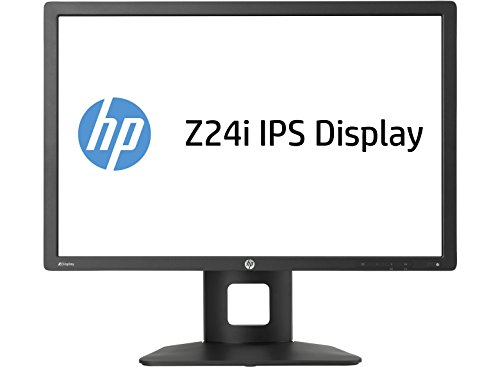 HP Z24i D7P53AT 61 cm (24,0 Zoll) Monitor (DVI-D, USB, 8ms Reaktionszeit, 1920 x 1200) schwarz