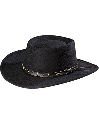 stetson-mens-hawk-crushable-wool-gambler-hat-black-medium