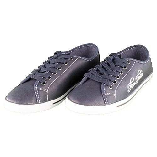 TOM TAILOR, Sneaker donna, blu (Blau), 40 EU