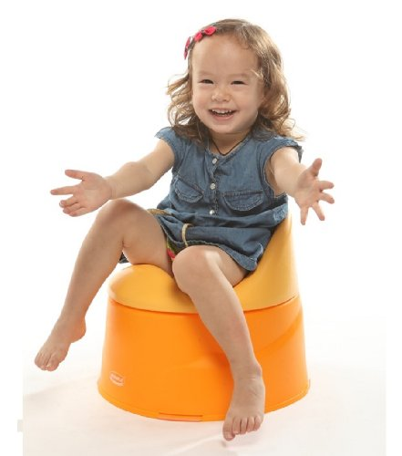 Kidsmile Unisex High Quality Kids Baby Potty Training Toilet Seat Chair 3pcs Set Yellow