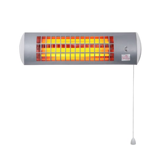 Firefly Wall Mounted Halogen Quartz Heater with 3 Power Settings