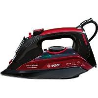 Bosch TDA5070GB Steam Iron, 0.3 Litre, 3050 Watt, Black & Red