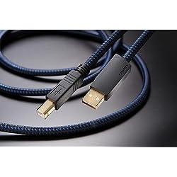 フルテック USBケーブル【A】タイプと【B】タイプ(1.2m)アルファー・デザイン・ラボFURUTECH FORMULA2-B-1.2M